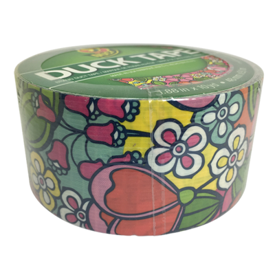 Duck Tape, Flower Wallpaper Duct Tape
