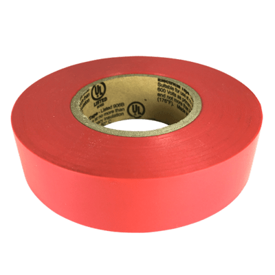 Red Electrical Tape (CPSIA)