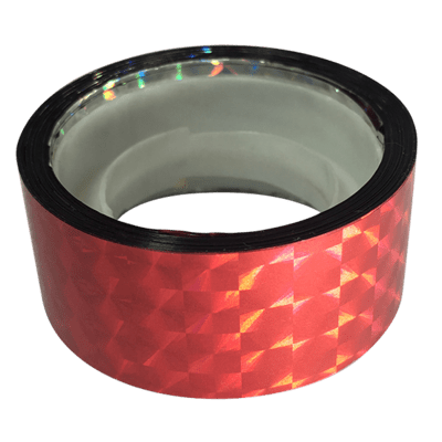 Budget Prismatic Tape, Lipstick Red