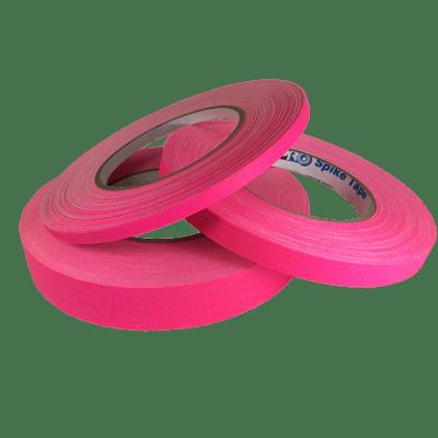 Matte Gaffer Tape, Fluorescent Pink (Pro-Gaff)