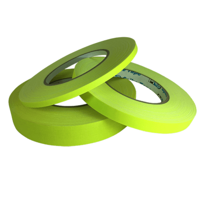 Matte Gaffer Tape, Fluorescent Yellow (Pro-Gaff)