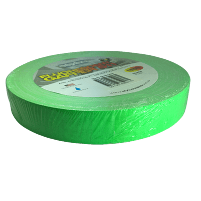 Economy Matte Gaffer Tape, Fluorescent Green (Stylus)