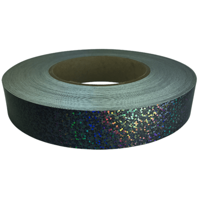 Holographic Sequin Tape, Black Galaxy