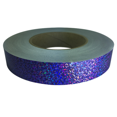 Holographic Sequin Tape, Purple Daze
