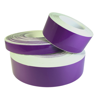 High Gloss Vinyl Plum Purple