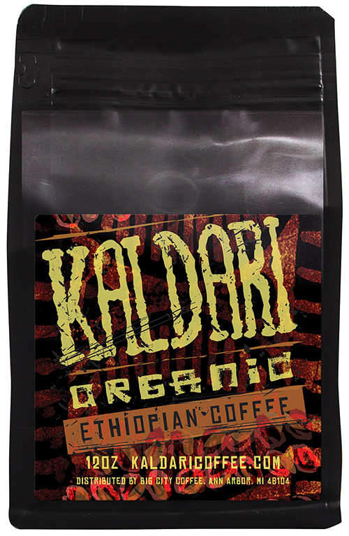 Kaldari Organic Ethiopian Coffee