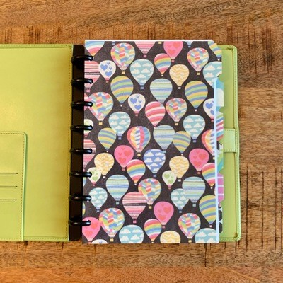 2019 Planner, Green Leather Cover (Personal Size)