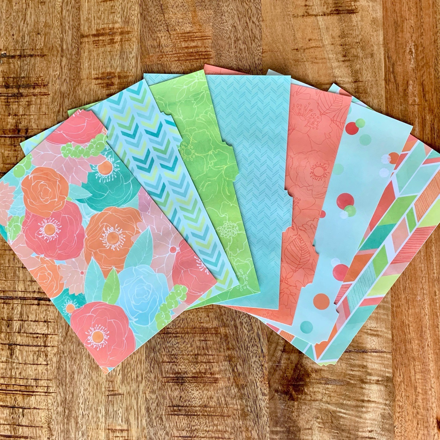 Tab Dividers Set of 7 (Fits Paper 5.5