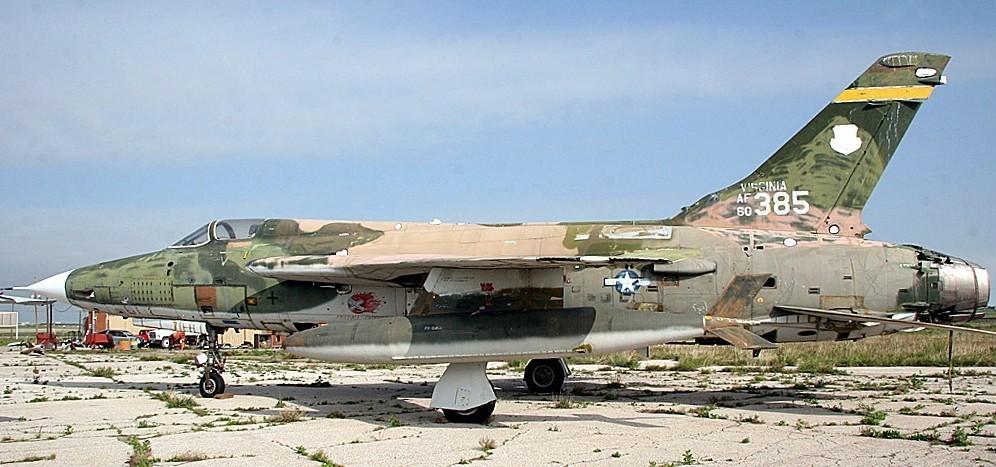 F-105 profile