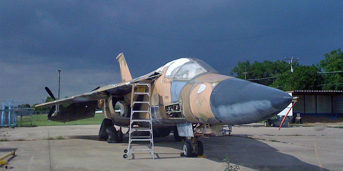 Donation - Save-A-Plane - F-111 Aardvark F-111E