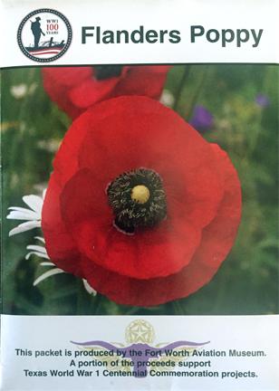 WWI Flanders Poppy Seeds WWIPS