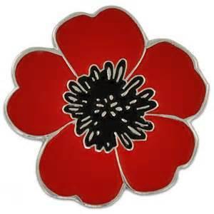 WWI Poppy Lapel Pin WWIPP