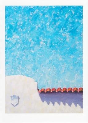 'Big Blue, Smile' Notecard