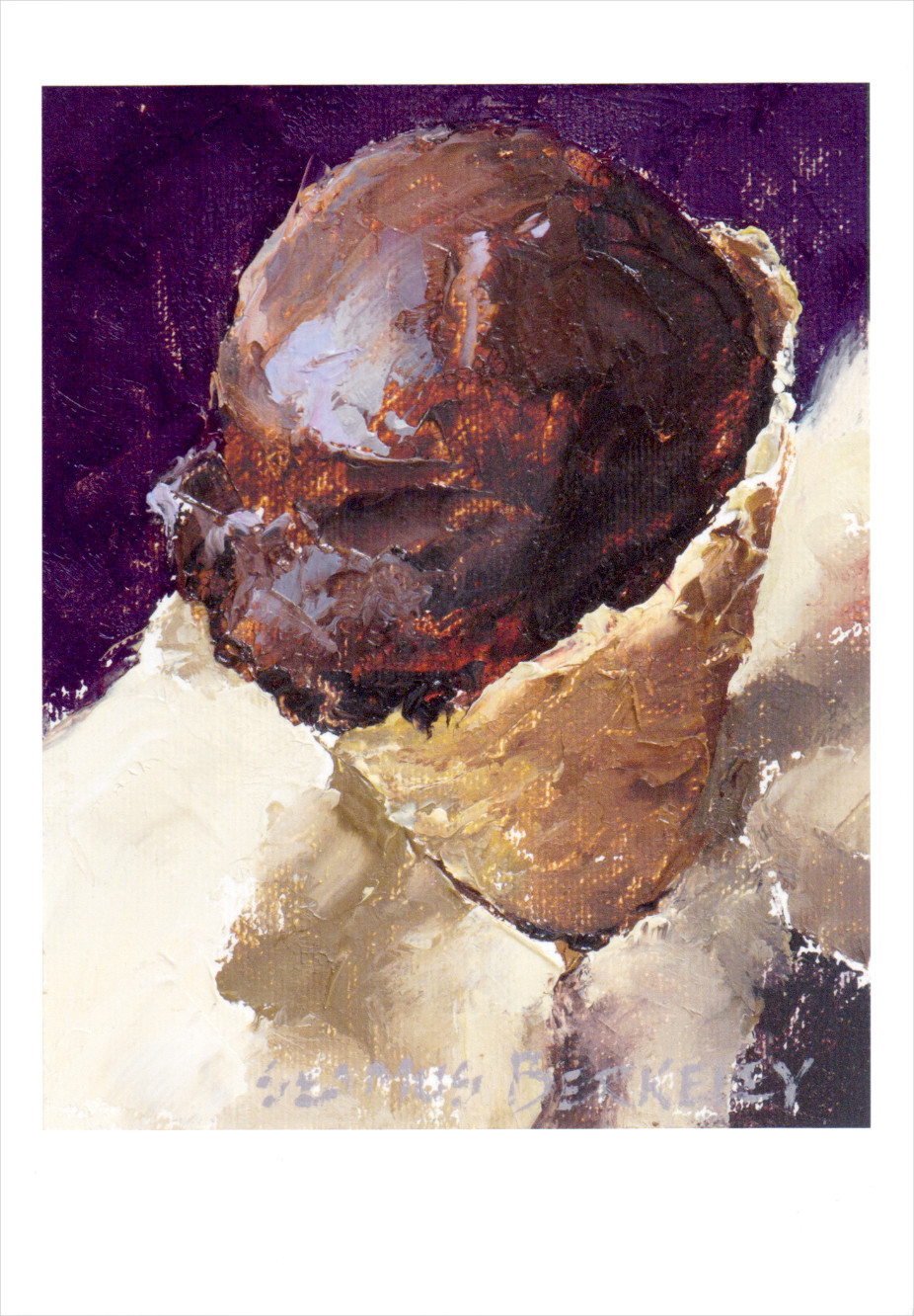 'Chocolate Sorbet' Notecard