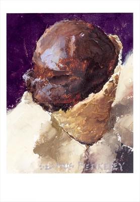 'Chocolate Sorbet' Notecard