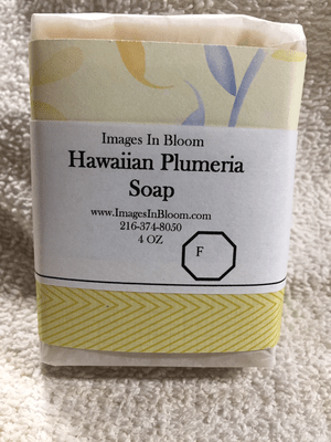 Hawaiian Plumeria Soap **NEW**