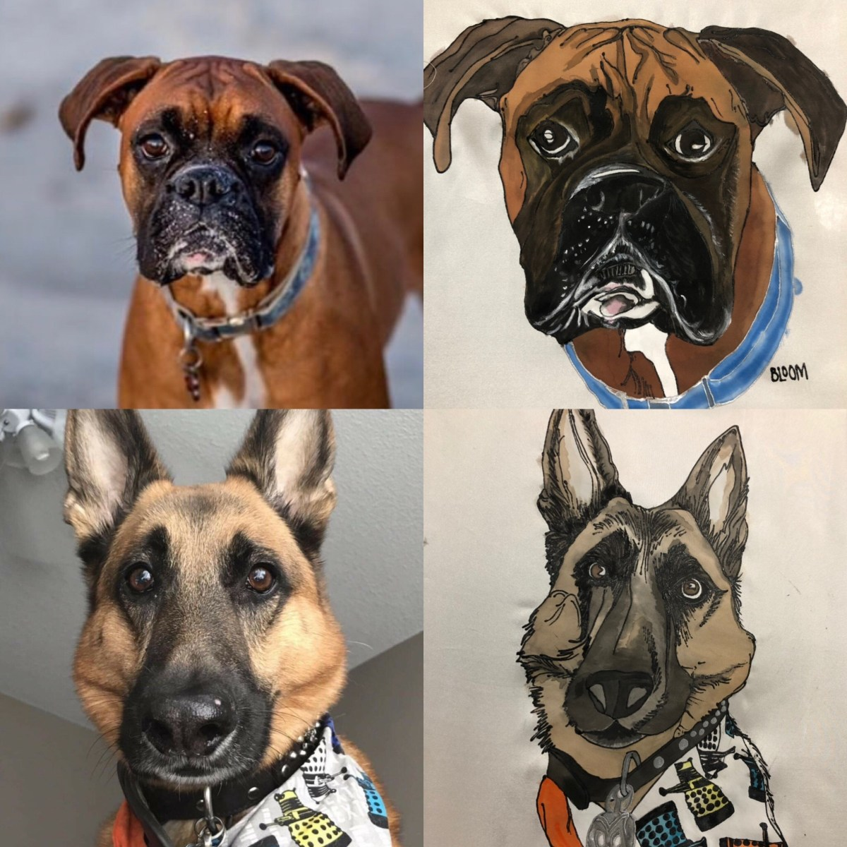 Gift Certificate- custom pet portrait