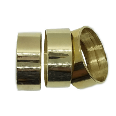 Polished Brass Hunting and Game Call Band 3 Pack