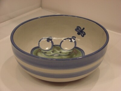 Little Green Frog Bowl