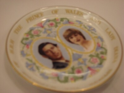 ​Commemorative China Plate
