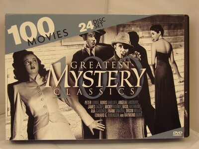 24 Disc Greatest Mystery Classics DVD Set