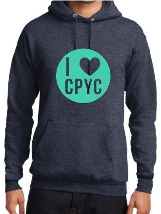 I Love CPYC Theme Hoodie