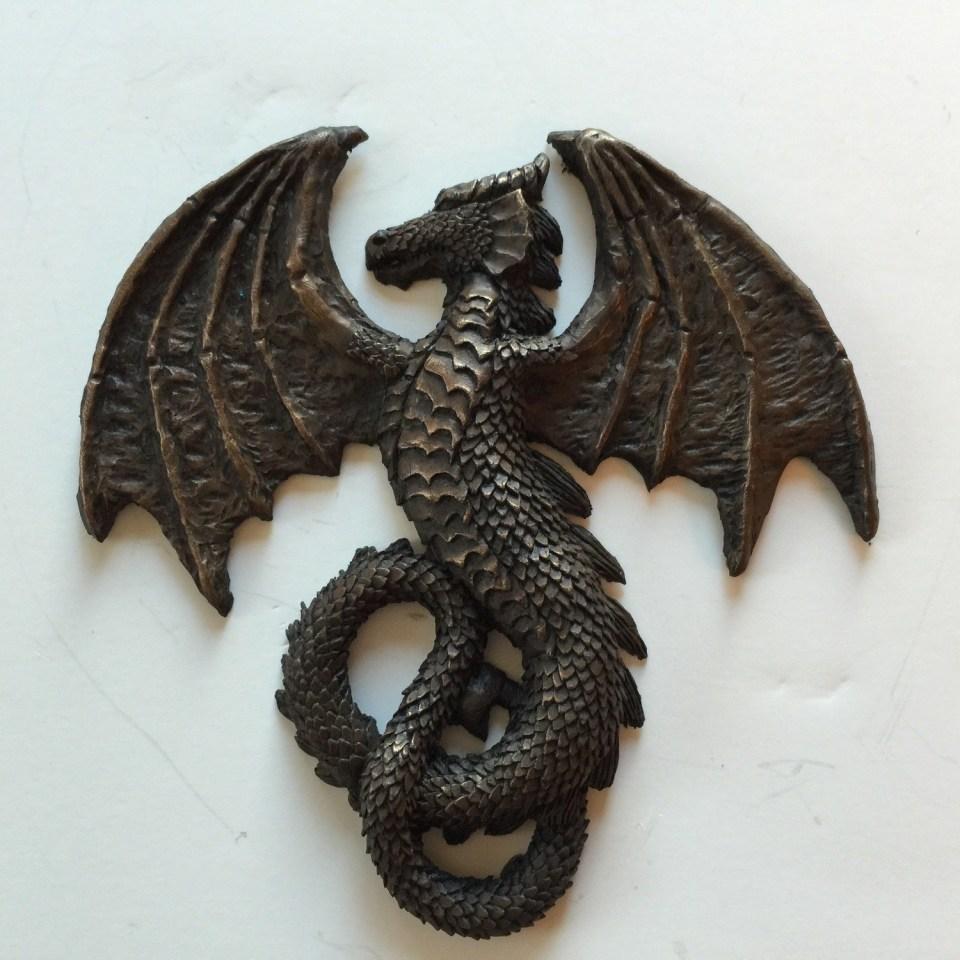Infinity Dragon Laptop Relief Sticker