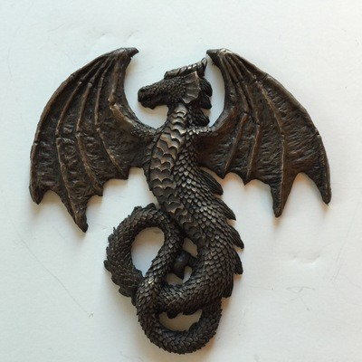 Infinity Dragon Laptop Relief Sticker