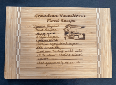 Bamboo Cutting Board 10.25 x 15