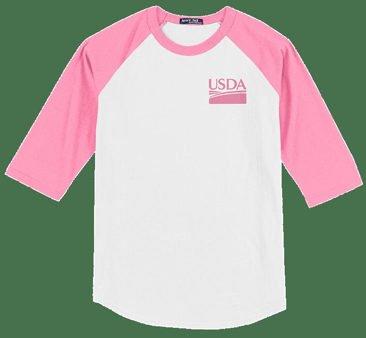 Color Block Unisex Raglan Jersey