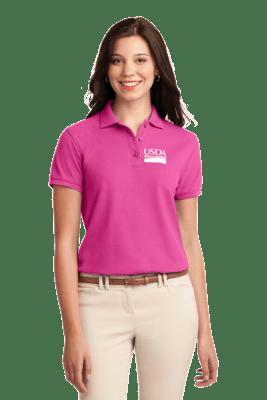 Ladies Short Sleeve Polo