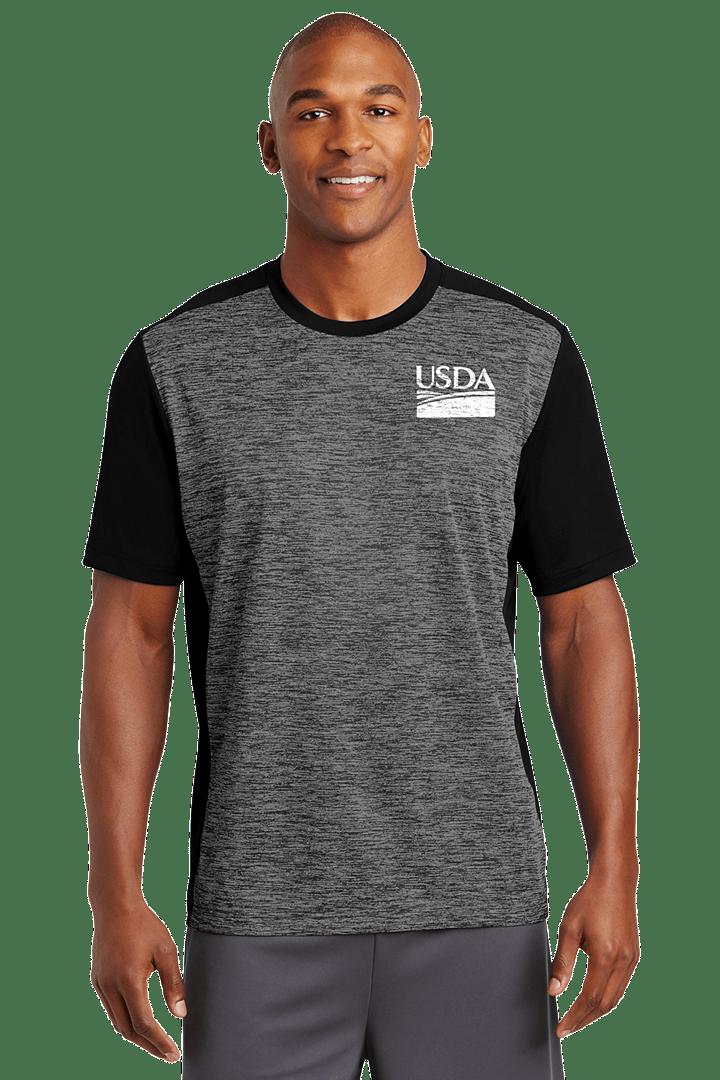 Unisex Electric Heather Moisture-Wicking T-Shirt
