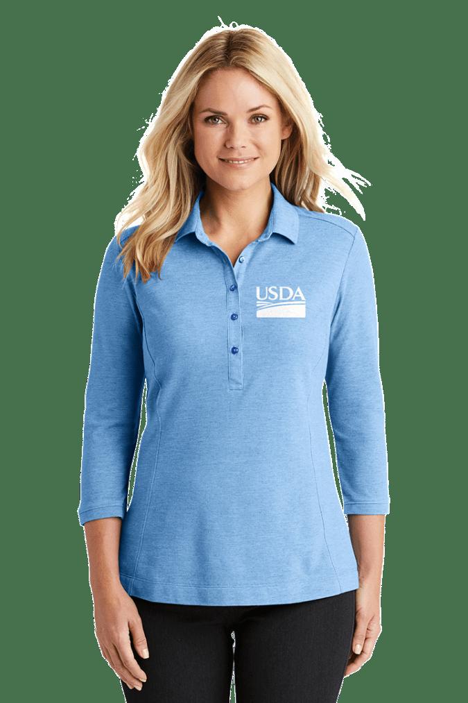 Ladies Coastal Blend Cotton Polo LK581