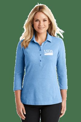 Ladies Coastal Blend Cotton Polo