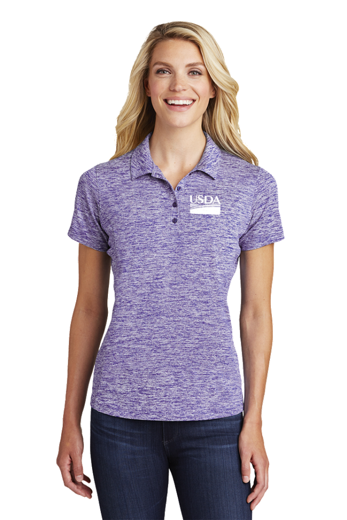 Ladies Electric Heather Polo LST590