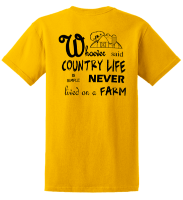 Whoever said Country Life........