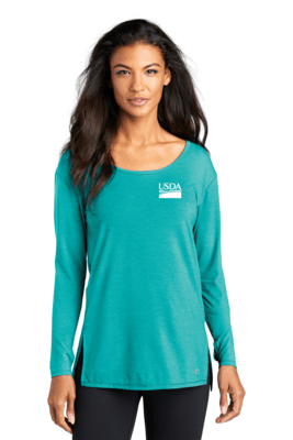 OGIO  Ladies Luuma Long Sleeve Tunic