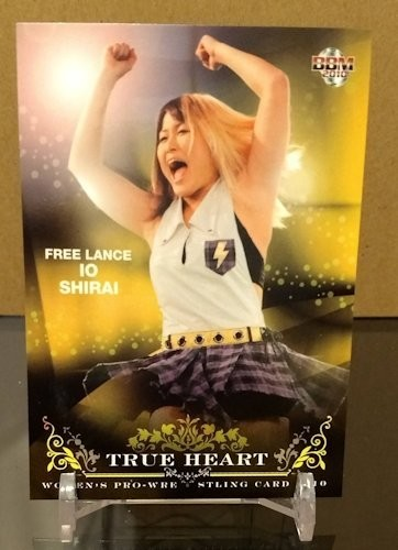 Io Shirai 2010 BBM True Heart Base Card