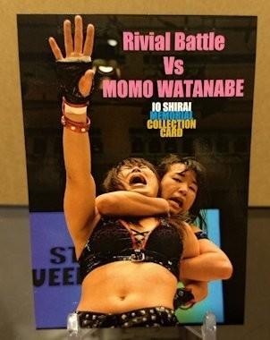 Io Shirai Memorial Collection Base Card - Rival Battle vs. Momo Watanabe