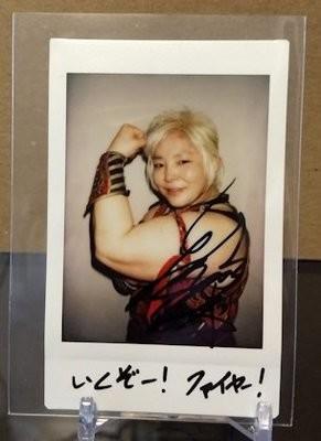 Tsubasa Kuragaki 2019 BBM Joshi True Heart Cheki Autograph /10