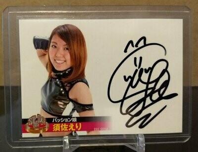 Eri Susa 2013 Stardom Official Card Set Autograph