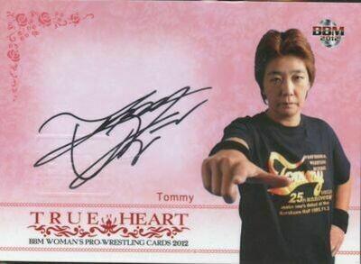 Tommy 2012 BBM Joshi True Heart Autograph /100