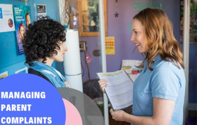 Managing Parent Complaints