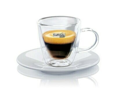 Espresso Glass Cups Set