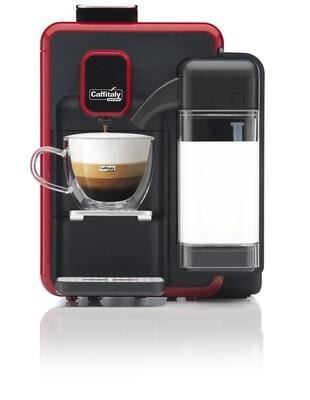 Caffitaly Bianca + 25 Free Capsules + 2  Espresso Cups