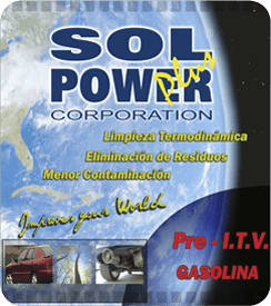 SOL POWER PRE-ITV Gasolina