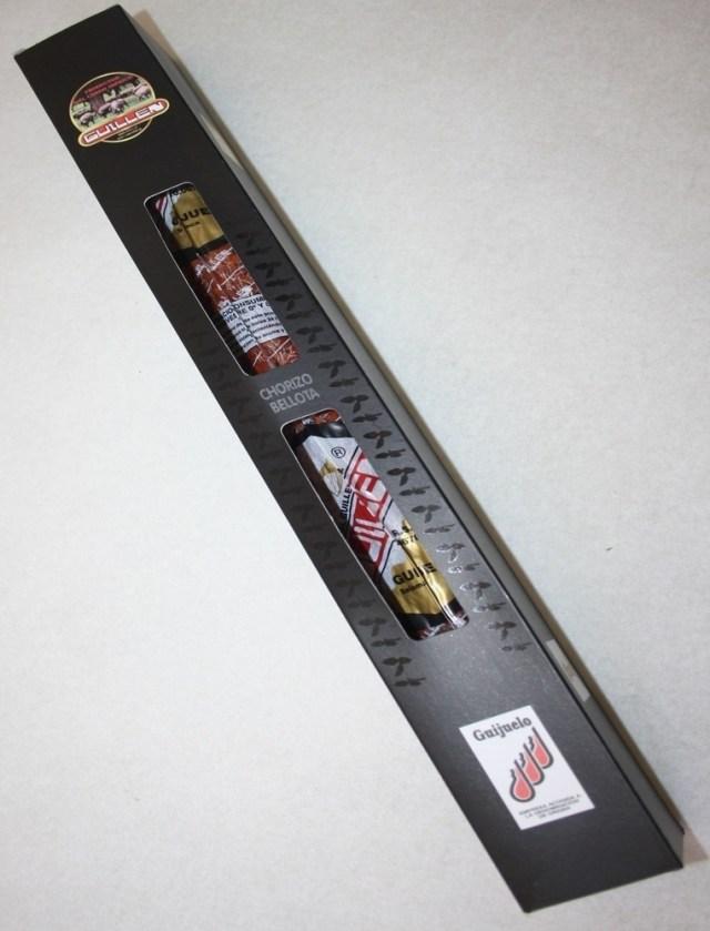 Chorizo Ibérico Vela Bellota - Peso aproximado: 450 g a 500 g sin contar el embalaje GUILLEN-36