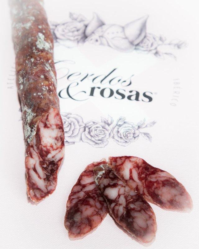 Cerdos y Rosas: Salchichón Ibérico de Bellota