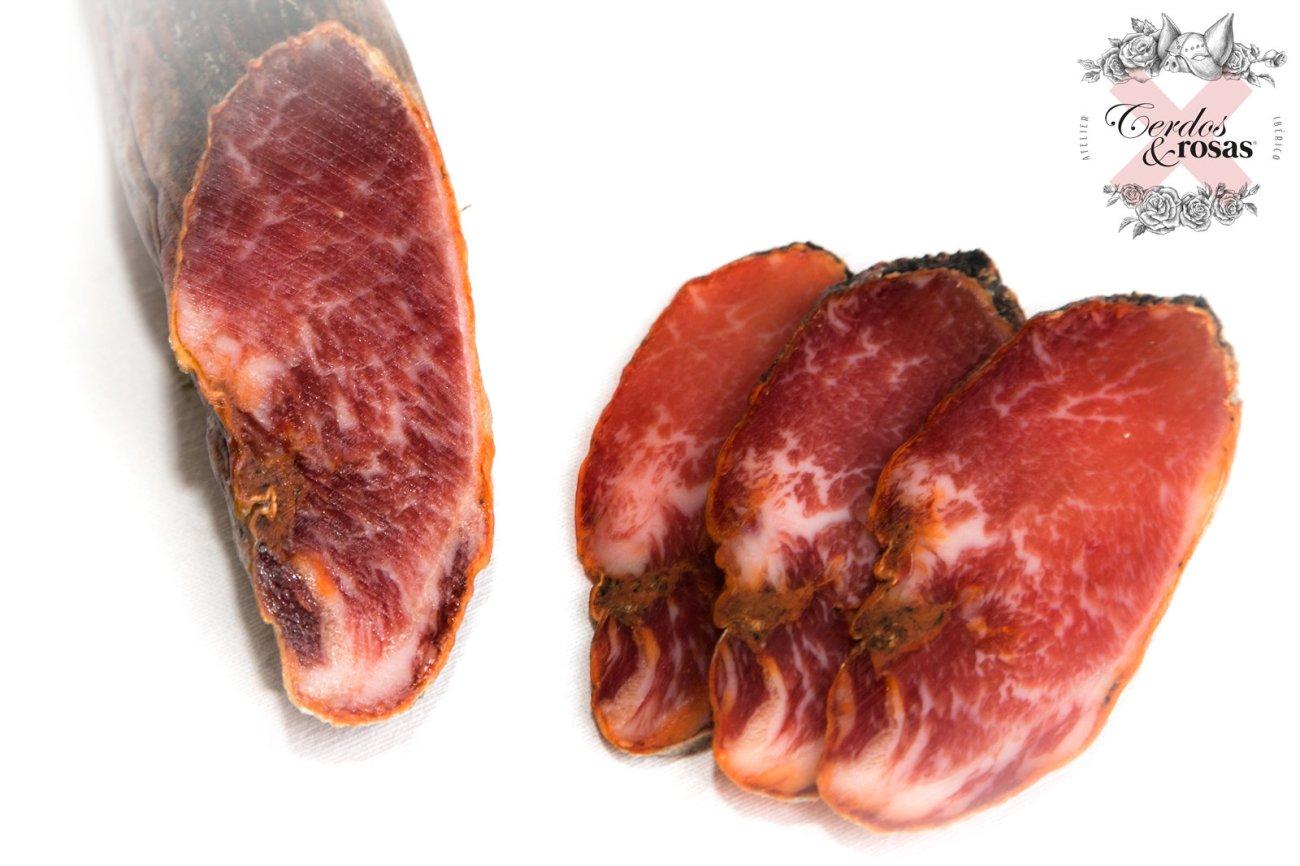 Cerdos y Rosas: Lomo Ibérico de Bellota