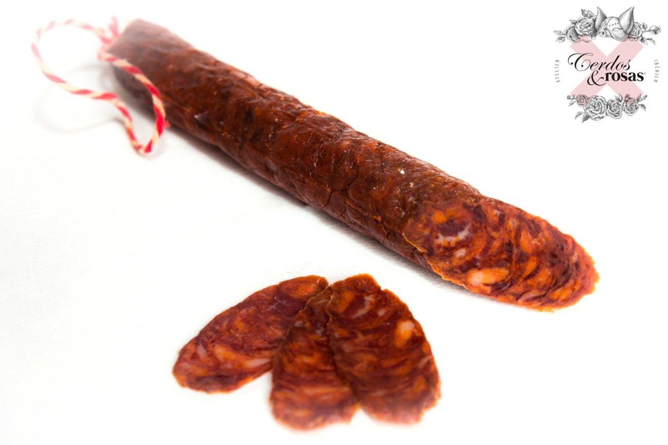 Cerdos y Rosas: Chorizo Ibérico de Bellota